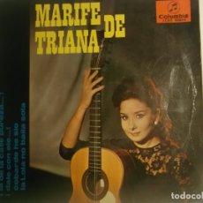 Discos de vinilo: MARIFE DE TRIANA-LA DE LA CALLE PUREZA. Lote 180201102