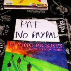 Discos de vinilo: FLYING PICKETS AN ENGLISHMAN IN NEW YORK. Lote 180204827