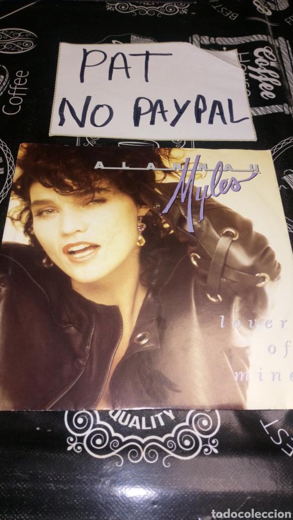 ALANNAH MYLES JUST ONE KISS LO VER OF MINE (Música - Discos - Singles Vinilo - Pop - Rock Extranjero de los 90 a la actualidad)