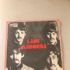 Discos de vinilo: THE BEATLES / LADY MADONNA / THE INNER LIGHT (SINGLE 1968)). Lote 180205755