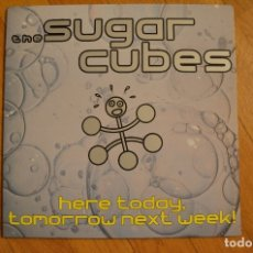 Discos de vinilo: SUGAR CUBES - HERE TODAY,TOMORROW,NEXT WEEK 1989 LP VINYL GRABACIONES ACCIDENTALES SPAIN. Lote 180211427