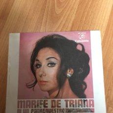 Discos de vinilo: MARIFE DE TRIANA. Lote 180221282