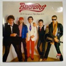 Discos de vinilo: DOBLE SINGLE EP VINILO BURNING – RNE EUROPEAN POP JURY 1975 DE 2004. Lote 180225133