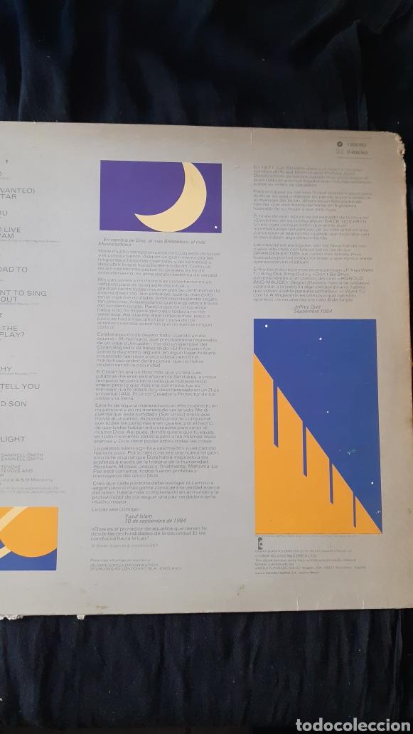 Discos de vinilo: LP. CAT STEVENS. FOOTSTEPS IN THE DARK. 1984. - Foto 2 - 180225907