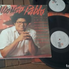 Discos de vinilo: PABLO MILANES LP QUERIDO PABLO MADE IN SPAIN 1985 -SILVIO RODRIGUEZ- MIGUEL RIOS- ARTISTAS INVITADOS. Lote 180236751