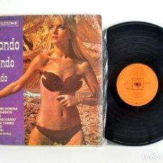 Discos de vinilo: MACONDO, CUMBIAS DE COLOMBIA CBS DCS-S905 G+/G+ CHEESECAKE. Lote 180238397