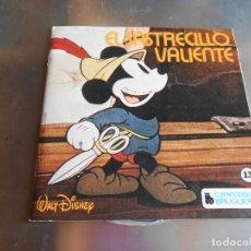 Discos de vinilo: CUENTODISCO BRUGUERA - WALT DISNEY MICKEY MOUSE-, EP, EL SASTRECILLO VALIENTE + 1, AÑO 1972. Lote 180248095