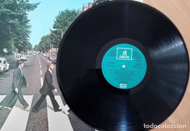 Discos de vinilo: LP THE BEATLES - ABBEY ROAD - EMI ESPAÑA AÑO 1969 - Foto 2 - 180249016