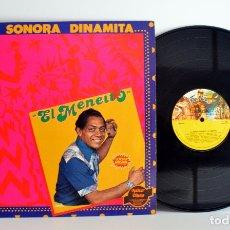 Discos de vinilo: LA SONORA DINAMITA - EL MENEITO - LP FUENTES-EDIGSA ESPAÑA 1981 G+/VG++. Lote 180252957
