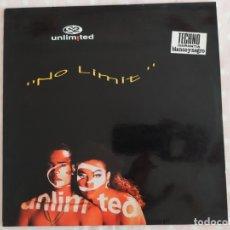 Discos de vinilo: 2 UNLIMITED – NO LIMIT. Lote 180254388