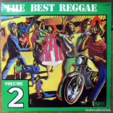 Discos de vinilo: THE BEST REGGAE, VOLUME 2 - TROJAN - 1981 - WAILERS, DENNIS BROWN, ALTON ELLIS, PETER TOSH, ETC. Lote 180264481