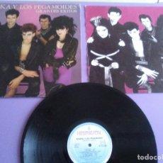 Discos de vinilo: GENIAL LP ORIGINAL.ALASKA Y LOS PEGAMOIDES.GRANDES ÉXITOS.1982 SPAIN.S 70.722.HISPAVOX + ENCARTE.. Lote 180267523