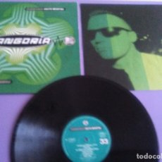 Discos de vinilo: JOYA LP. FANGORIA / ALASKA - SALTO MORTAL - HISPAVOX 1990 SPAIN 7-954321 - LETRAS . Lote 180271152