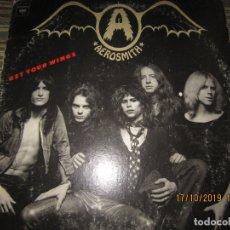 Discos de vinilo: AEROSMITH - GET YOUR WINGS LP - ORIGINAL U.S.A. - COLUMBIA RECORDS 1974 -. Lote 180271406