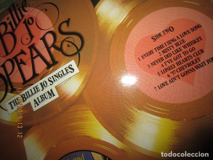 Discos de vinilo: BILLIE JO SPEARS - THE BILLIE JO SINGLES ALBUM LP - ORIGINAL INGLES - U.A. RECORDS 1979 - - Foto 7 - 180273831