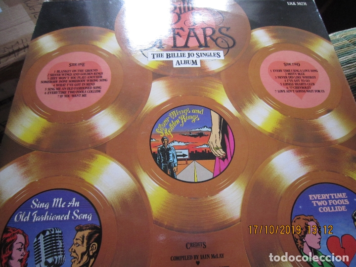 Discos de vinilo: BILLIE JO SPEARS - THE BILLIE JO SINGLES ALBUM LP - ORIGINAL INGLES - U.A. RECORDS 1979 - - Foto 8 - 180273831