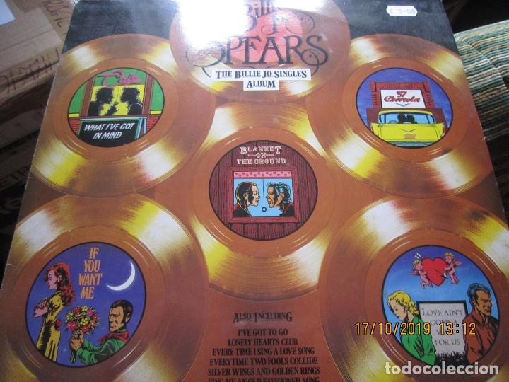 Discos de vinilo: BILLIE JO SPEARS - THE BILLIE JO SINGLES ALBUM LP - ORIGINAL INGLES - U.A. RECORDS 1979 - - Foto 9 - 180273831
