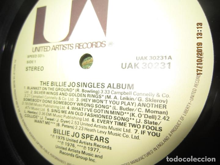 Discos de vinilo: BILLIE JO SPEARS - THE BILLIE JO SINGLES ALBUM LP - ORIGINAL INGLES - U.A. RECORDS 1979 - - Foto 13 - 180273831