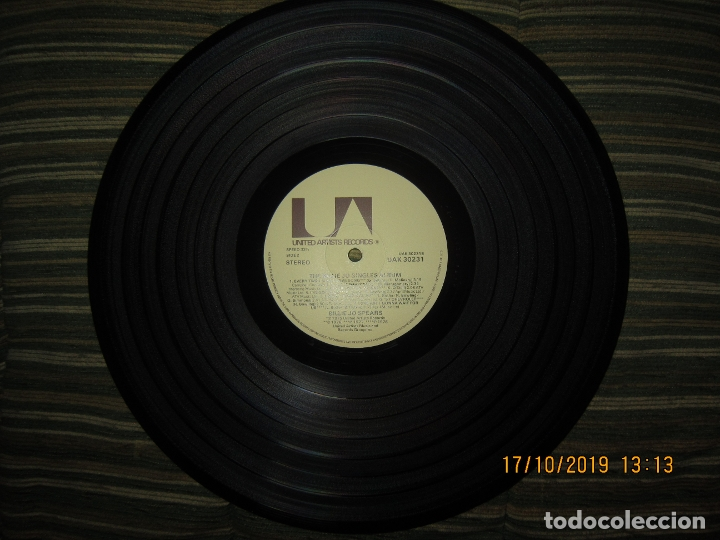 Discos de vinilo: BILLIE JO SPEARS - THE BILLIE JO SINGLES ALBUM LP - ORIGINAL INGLES - U.A. RECORDS 1979 - - Foto 14 - 180273831