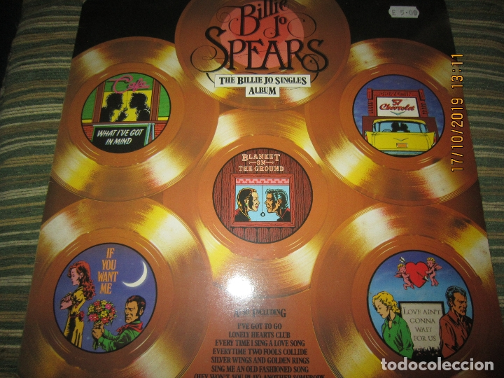 Discos de vinilo: BILLIE JO SPEARS - THE BILLIE JO SINGLES ALBUM LP - ORIGINAL INGLES - U.A. RECORDS 1979 - - Foto 18 - 180273831