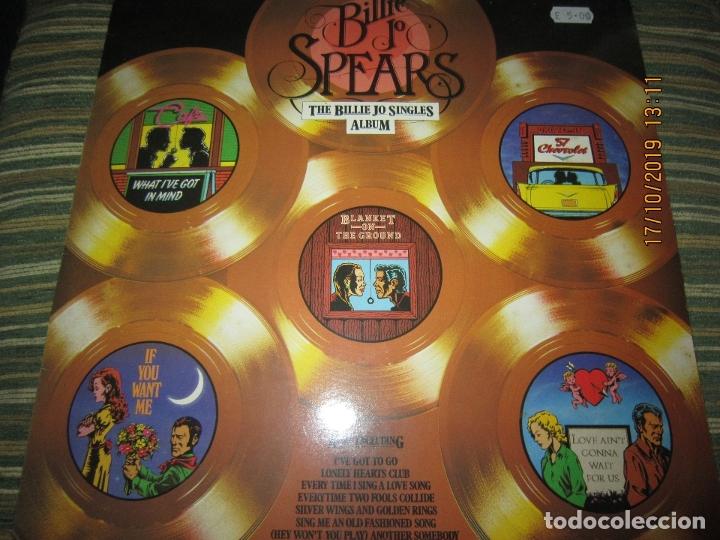 BILLIE JO SPEARS - THE BILLIE JO SINGLES ALBUM LP - ORIGINAL INGLES - U.A. RECORDS 1979 - (Música - Discos - LP Vinilo - Pop - Rock - Extranjero de los 70)
