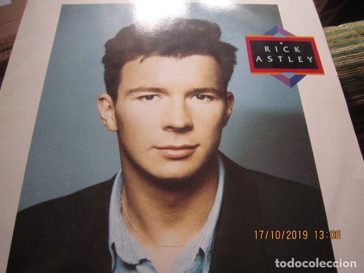Discos de vinilo: RICK ASTLEY - HOLD ME IN YOUR ARMS LP`- ORIGINAL ALEMAN - RCA 1988 MUY NUEVO CON FUNDA INT. ORIGINAL - Foto 10 - 180275443
