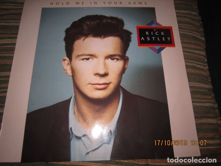 Discos de vinilo: RICK ASTLEY - HOLD ME IN YOUR ARMS LP`- ORIGINAL ALEMAN - RCA 1988 MUY NUEVO CON FUNDA INT. ORIGINAL - Foto 20 - 180275443