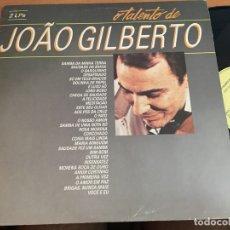 Discos de vinilo: JOAO GILBERTO (O TALENTO DE) 2 LP BRASIL 1986 (B-7). Lote 180276371