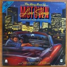 Discos de vinilo: VARIOS // THE VERY BEST OF MOTOWN LOVE SONGS VOLUME 1 // EDICIÓN UK 1984. Lote 180277410