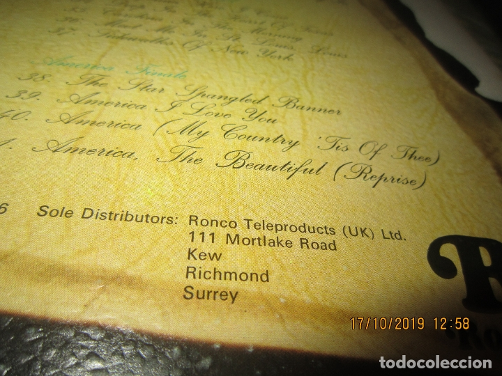 Discos de vinilo: THE MUSIC OF AMERICA 1976 - 1976 LP - ORIGINAL INGLES - GATEFOLD Y LIBRETO MUY NUEVO(5) - Foto 3 - 180277962