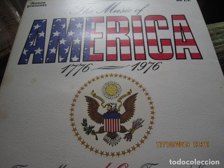Discos de vinilo: THE MUSIC OF AMERICA 1976 - 1976 LP - ORIGINAL INGLES - GATEFOLD Y LIBRETO MUY NUEVO(5) - Foto 24 - 180277962