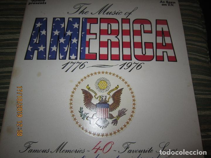 THE MUSIC OF AMERICA 1976 - 1976 LP - ORIGINAL INGLES - GATEFOLD Y LIBRETO MUY NUEVO(5) (Música - Discos - LP Vinilo - Country y Folk)