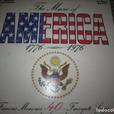 Discos de vinilo: THE MUSIC OF AMERICA 1976 - 1976 LP - ORIGINAL INGLES - GATEFOLD Y LIBRETO MUY NUEVO(5). Lote 180277962