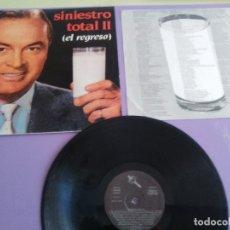 Discos de vinilo: LP. ORIGINAL. SINIESTRO TOTAL - SINIESTRO TOTAL II EL REGRESO - SELLO DRO 1983 SPAIN DRO 050. . Lote 180278241