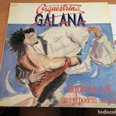 Discos de vinilo: GALENA (AQUESTA NIT) LP 1989 ESPAÑA (B-7). Lote 180281378