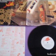 Discos de vinilo: OS RESENTIDOS JEI LP ORIGINAL.1990 GRABACIONES ACCIDENTALES MOVIDA POP ANTON REIXA SEXY NUDE COVER. Lote 180281411