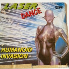 Discos de vinilo: LASERDANCE - HUMANOID INVASION - 1986. Lote 180282508