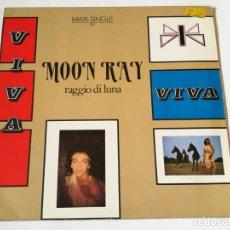 Discos de vinilo: MOON RAY (RAGGIO DI LUNA) - VIVA - 1985. Lote 180284240