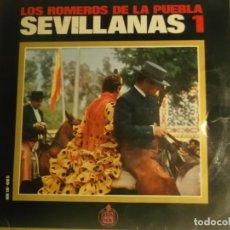 Discos de vinilo: LOS ROMEROS-SEVILLANAS 1. Lote 180289126
