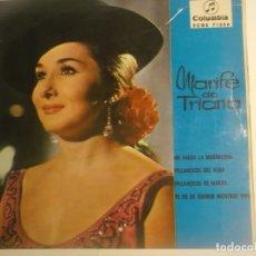 Discos de vinilo: MARIFE DE TRIANA-EP ME VALGA LA MAGDALENA. Lote 180289200