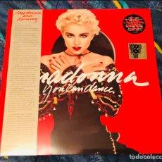 Discos de vinilo: MADONNA - YOU CAN DANCE VINILO ROJO NUEVO RECORD STORE DAY 2018 POSTER. Lote 180289261