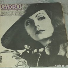 Discos de vinilo: GARBO! .GRETA GARBO Y SUS PELÍCULAS (MGM UK 1964). Lote 180297355