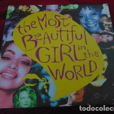 Discos de vinil: THE ARTIST - PRINCE - – THE MOST BEAUTIFUL GIRL IN THE WORLD - SINGLE 1994. Lote 180322682
