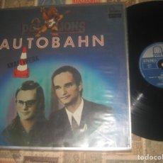 Discos de vinilo: KRAFTWERK AUTOBAHN(FONTANA 1974-80) EDITADO GERMANY LEA DESCRIPCION. Lote 180324506