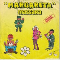 Discos de vinilo: MASSARA - MARGARITA / PARTE II (SINGLE ESPAÑOL, MOVIEPLAY 1979). Lote 180325615