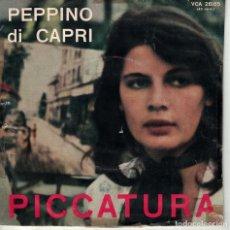 Discos de vinilo: PEPPINO DI CAPRI - PICCATURA / CHI ACCENDE LE STELLE (ITALY, CARISCH SIN FECHA). Lote 180326162
