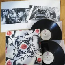 Discos de vinilo: RED HOT CHILI PEPPERS ‎- BLOOD SUGAR SEX MAGIK 2LP 1991 1ª EDICION BRAZIL COMPLETA CON LOS 2 INNERS . Lote 180328062