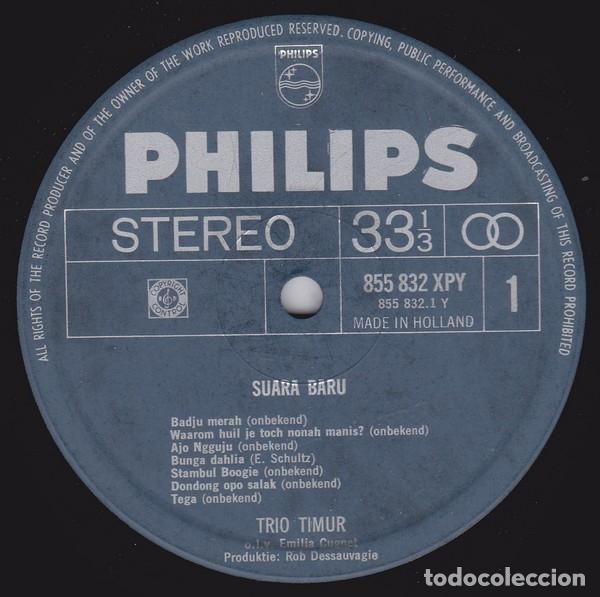 Discos de vinilo: Trio Timur – Suara Baru - Foto 3 - 180328403