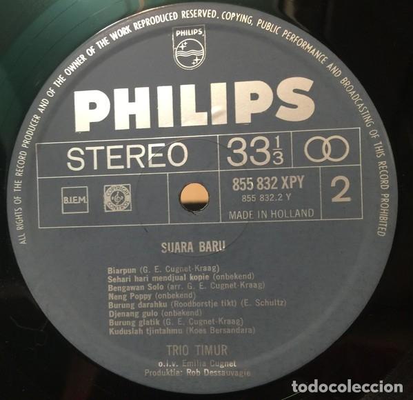 Discos de vinilo: Trio Timur – Suara Baru - Foto 4 - 180328403