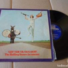 Discos de vinilo: THE ROLLING STONES IN CONCERT - GET YER YA-YA´S OUT EDICION ESPAÑOLA DE LOS 70. Lote 180330805
